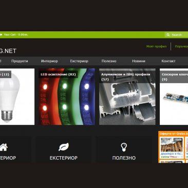 web design sait ledbg.net