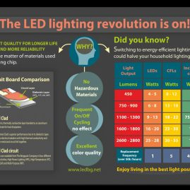 Инфографика за LEDBG.NET