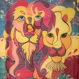 Silk draw Lions