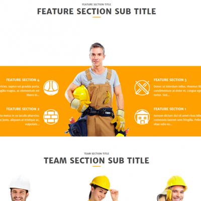 изработка сайт строителство